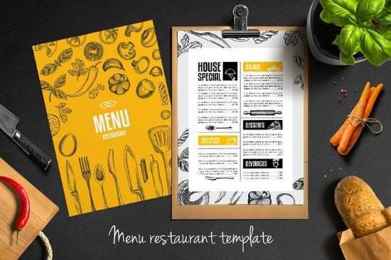 Diseño e Impresión de Menús de Papel Carta para Cafeterías