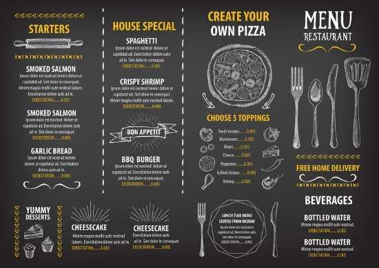 Impresión de menús y cartas personalizadas para Hoteles Boutique