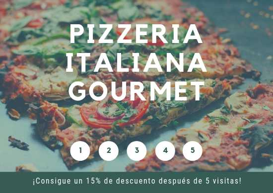 Manteles Individuales de Papel Couche para Pizzerías