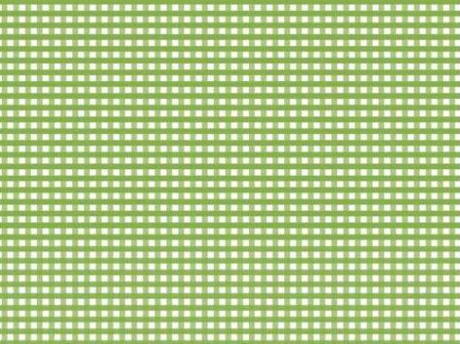 Manteles Individuales de Papel Cuadritos Verdes Impresos a un Color