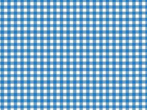 Manteles Individuales de Papel en Cuadros Azules Impresos a un Color