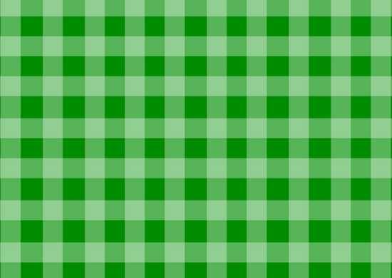 Manteles Individuales de Papel en Cuadros Verdes Impresos a un Color