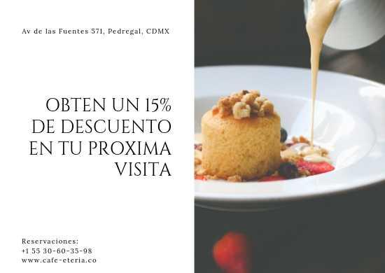 Manteletas Individuales Publicitarias de Papel Couche para Cafeterías, Heladerías y Pastelerías