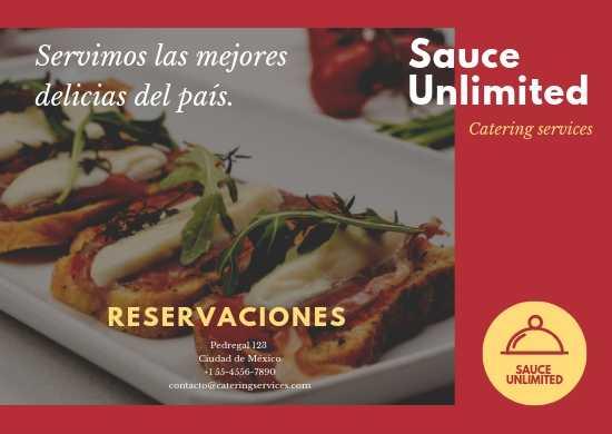 Manteletas Individuales de Papel, Impresas a Color para Restaurantes de Cortes de Carne